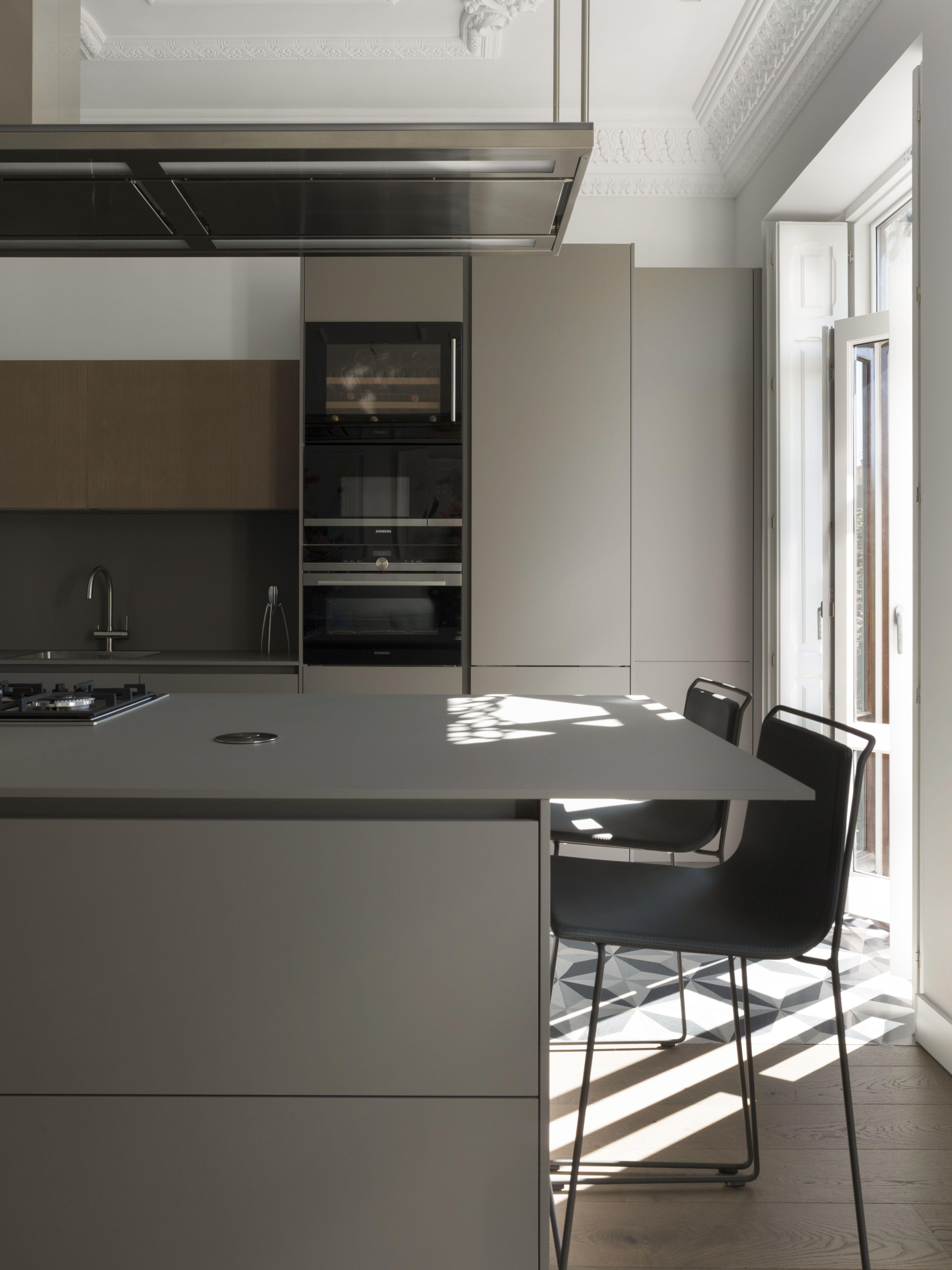 Santos Kitchen Los Tonos Neutros Los Materiales Y Las Texturas