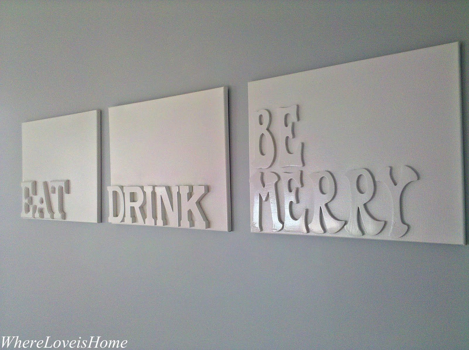 Dining Room Art Eat Drink u0026 Be Merry & Dining Room Art: Eat Drink u0026 Be Merry | Dining room art Room art ...