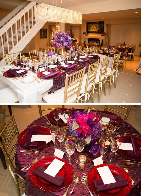 Exceptional 50th Birthday Dinner Party Ideas Part - 11: Purple U0026 Gold 50th Birthday Party | 50 Birthday Parties, Purple Gold And  Elegant Birthday Party