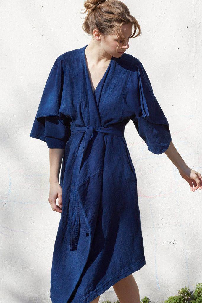 Cosmic Wonder Sashiko Sleeve Dress  4dfa6a0b5ab04