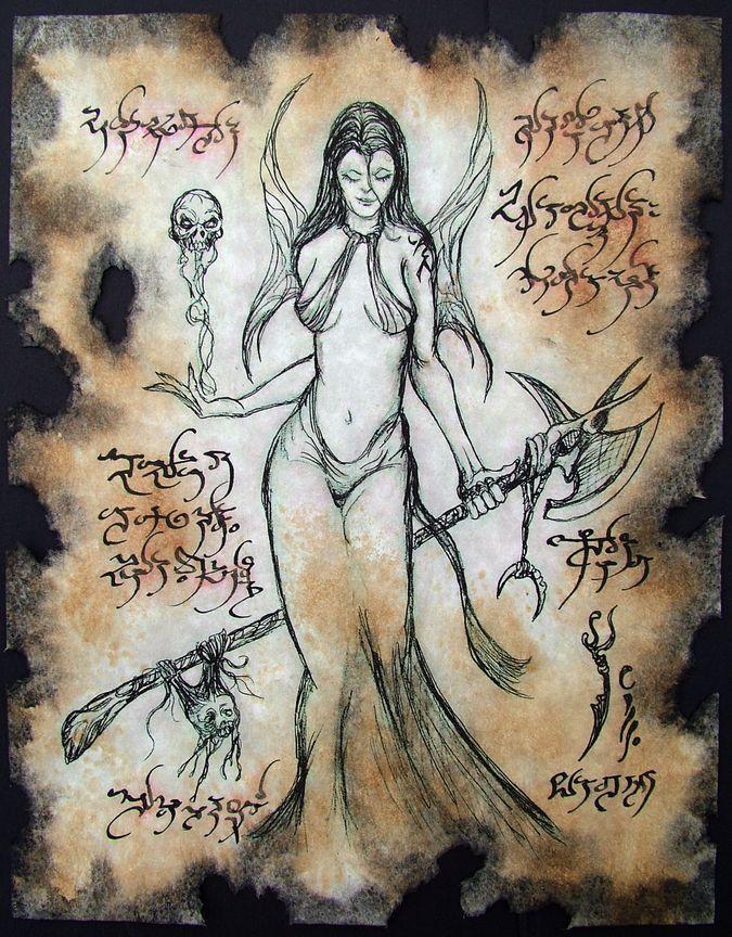 Craft Word [Succubus Incantation] | Occult | Cthulhu, Occult