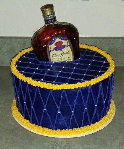 Crown Royal Cake My Hobby Cake Crown Royal Cake