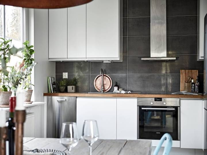 Un primero con terraza tiendas decoracion cocina for Decoracion nordica pisos pequenos