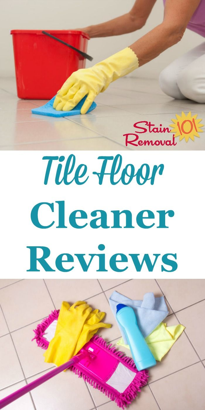 Tile Floor Cleaners Reviews Which Products Work Best Cleaning