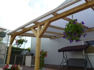 Marktplaats een tuin compleet maken met polycarbonaat dak