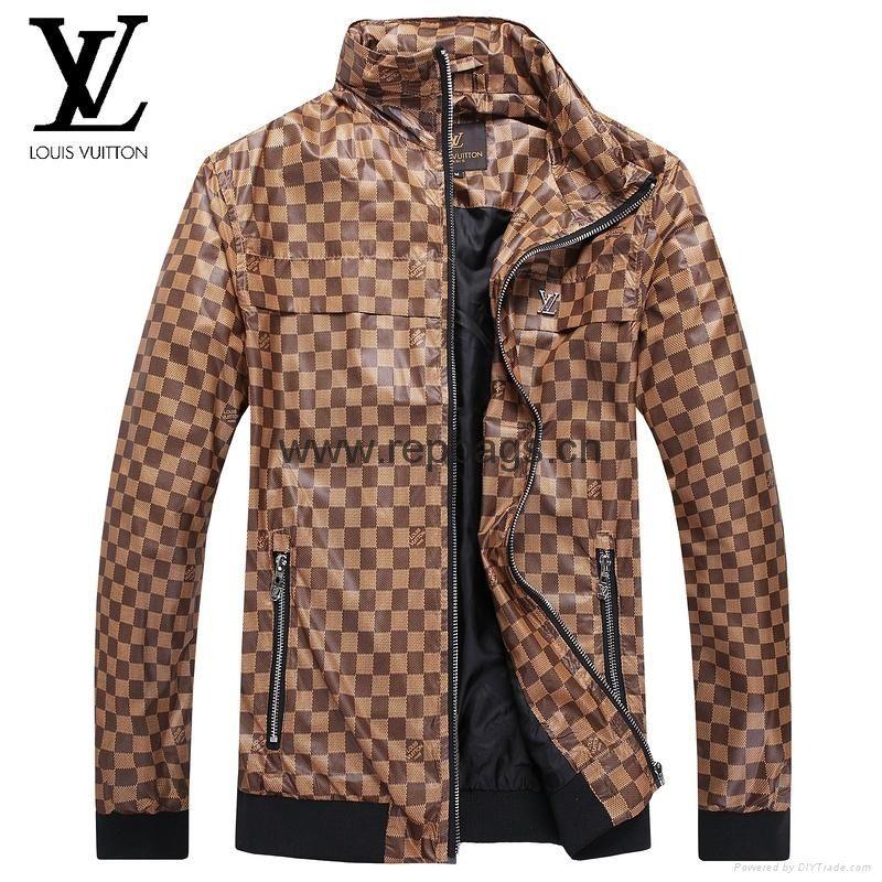 Louis Vuitton Leather Jacket Mens Jackets, Mens