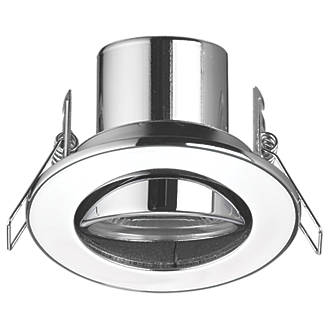 Lap Cosmoseco Adjustable Fire Rated Led Downlight Chrome 500lm 4w 240v Fire Rated Downlights Screwfix Com In 2020 Downlights Chrome Led Light Bulb