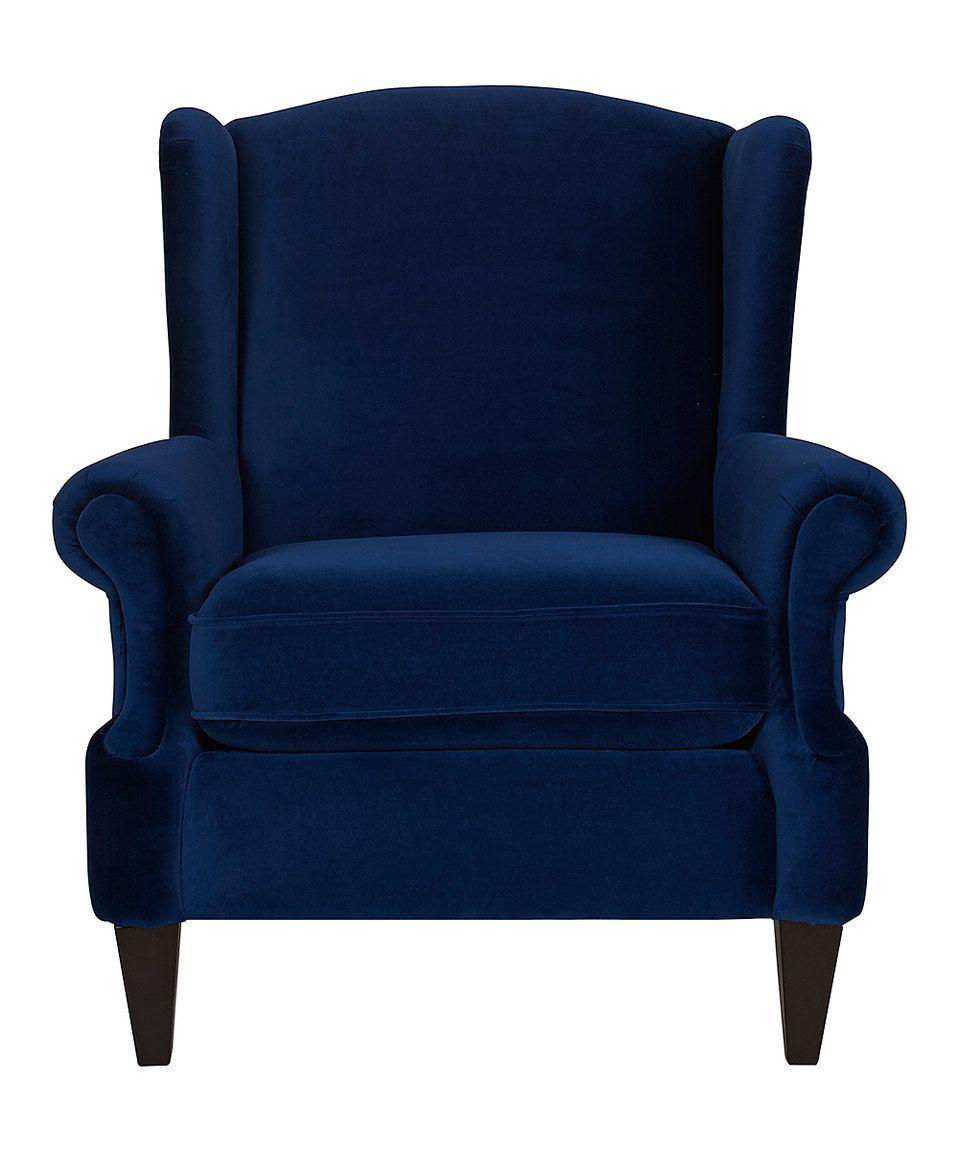 Estate blue arm chair blue chairs living room blue