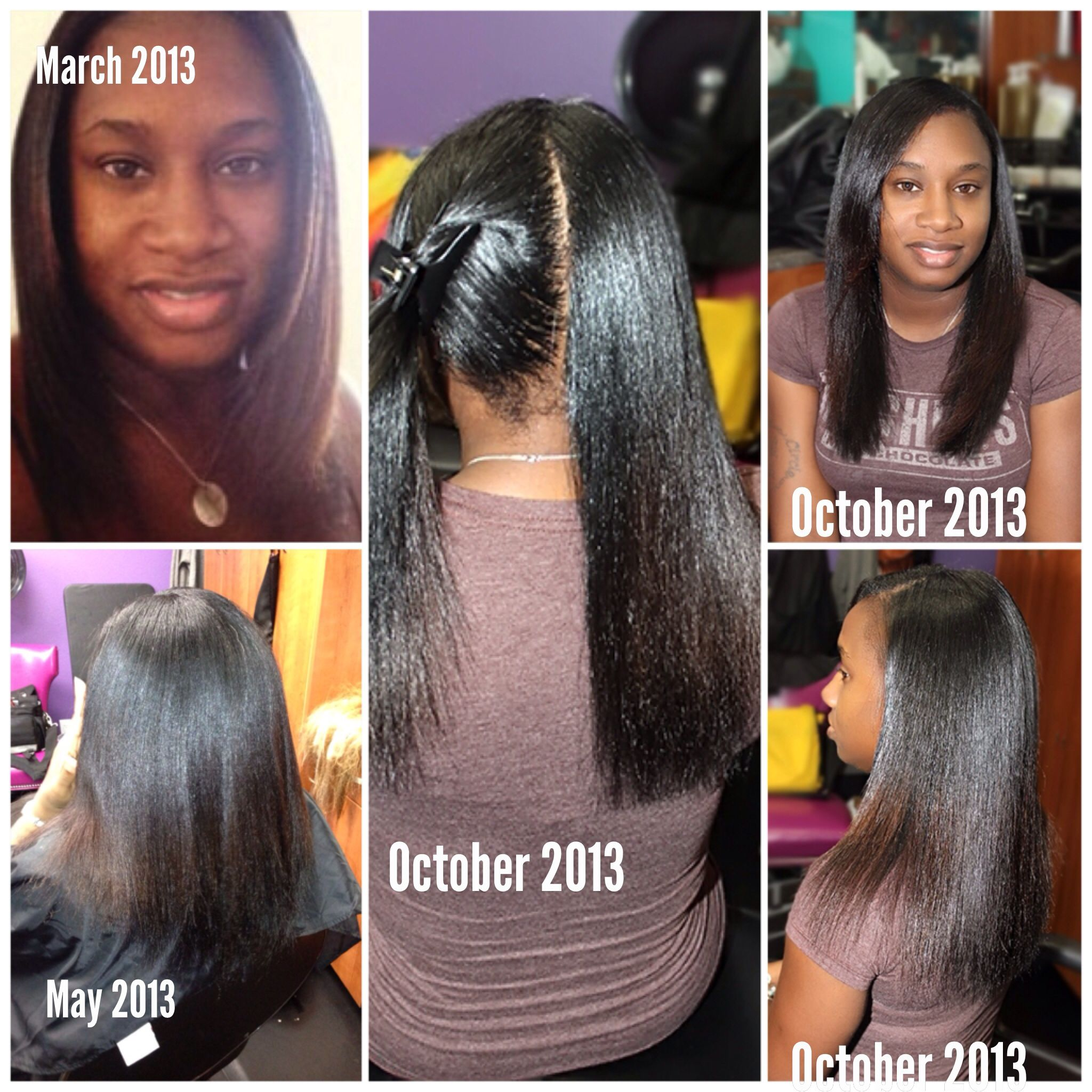 my client has been receiving weaving services (protective styling