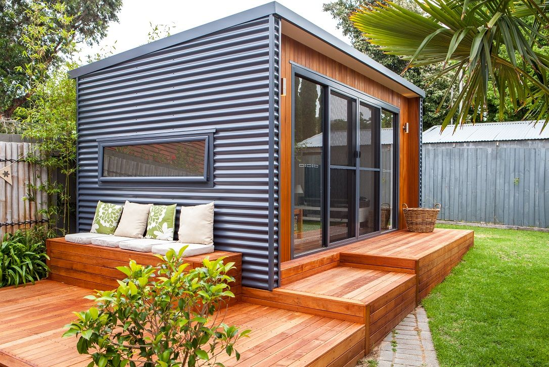 Outdoor Studio Sandringham Backyard House Backyard Office Backyard Sheds