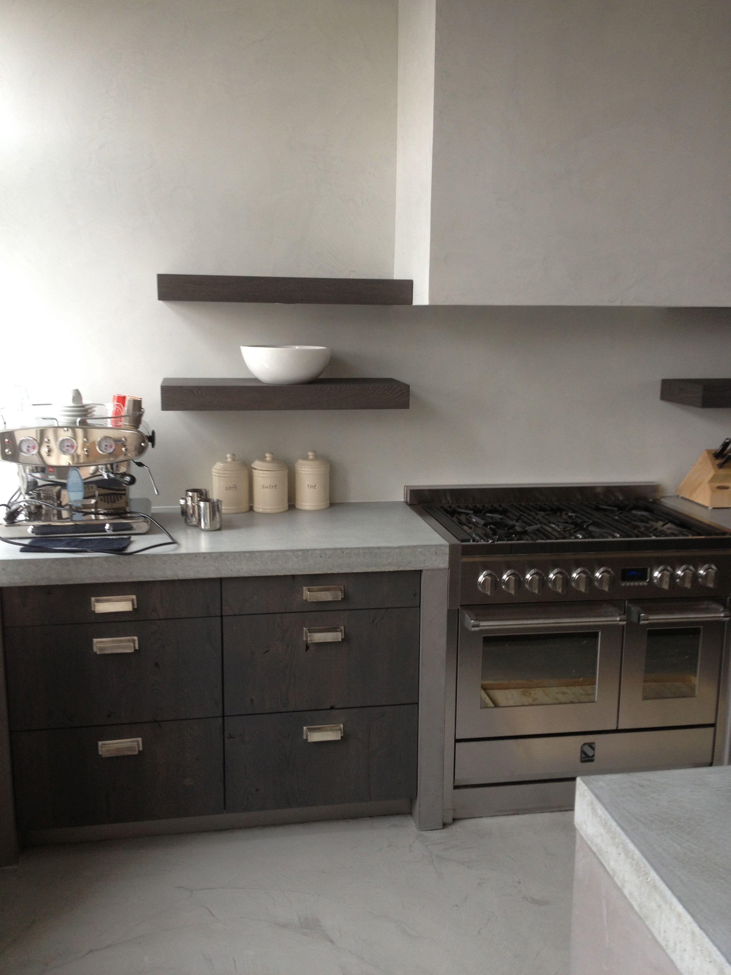 Img 1953 Jpg 2448 3264 Concrete Kitchen Modern Kitchen Black Kitchen Cabinets