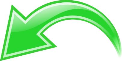 Arrow Curved Green Left Curved Arrow Arrow Curve