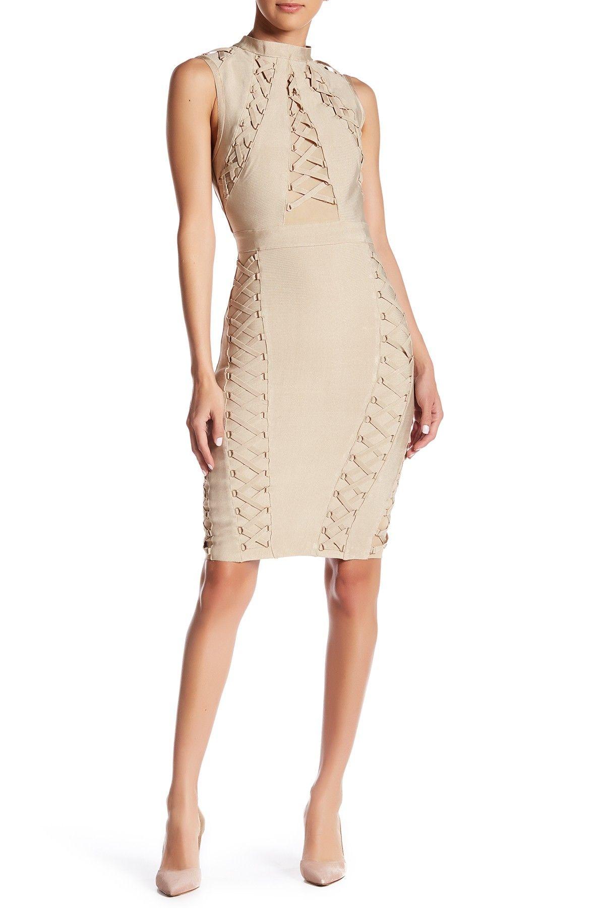 Up Bandage Dress
