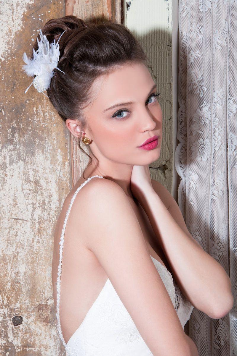 תסרוקות כלה עם צמות | Hairstyles | Pinterest