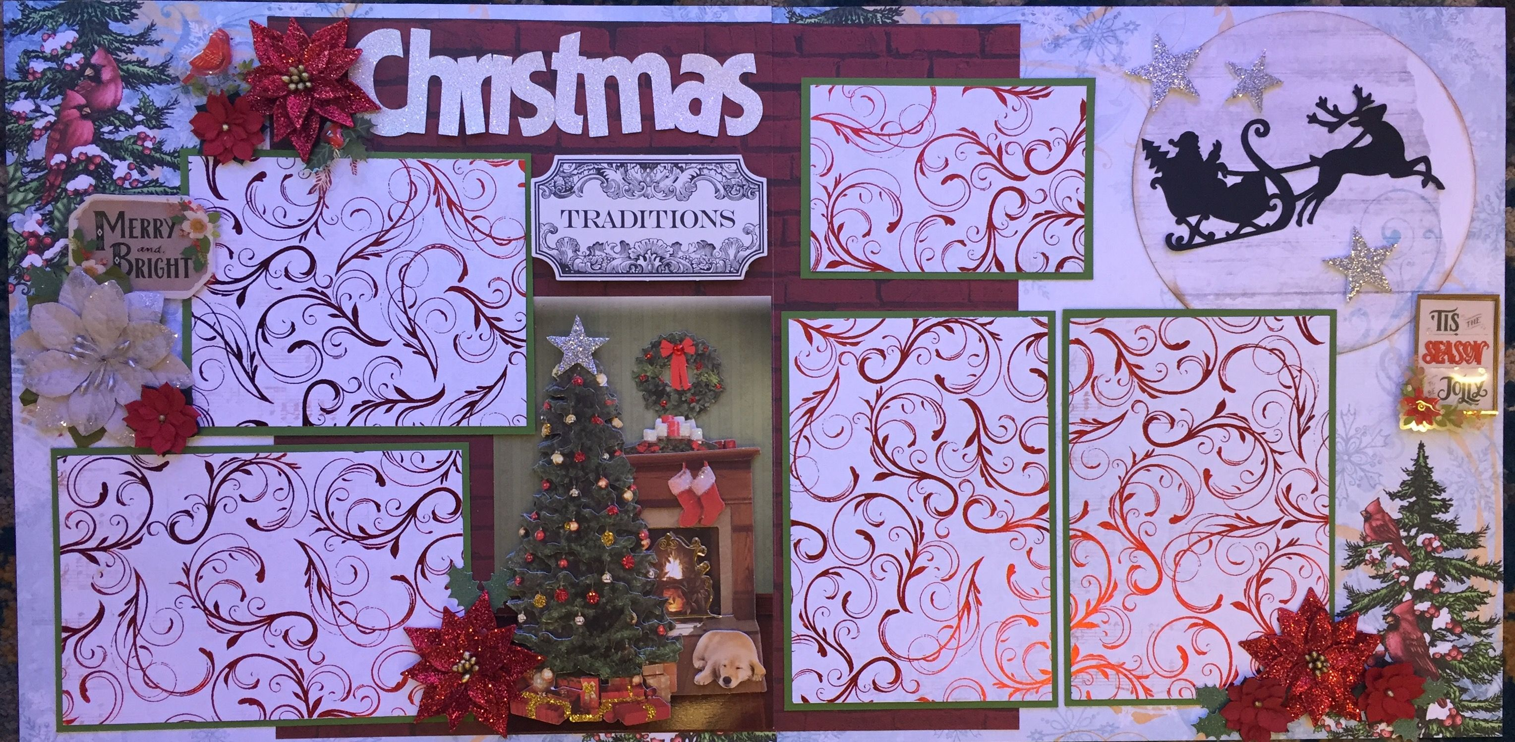 Pin by Sherry Lovelass on Christmas layouts Pinterest