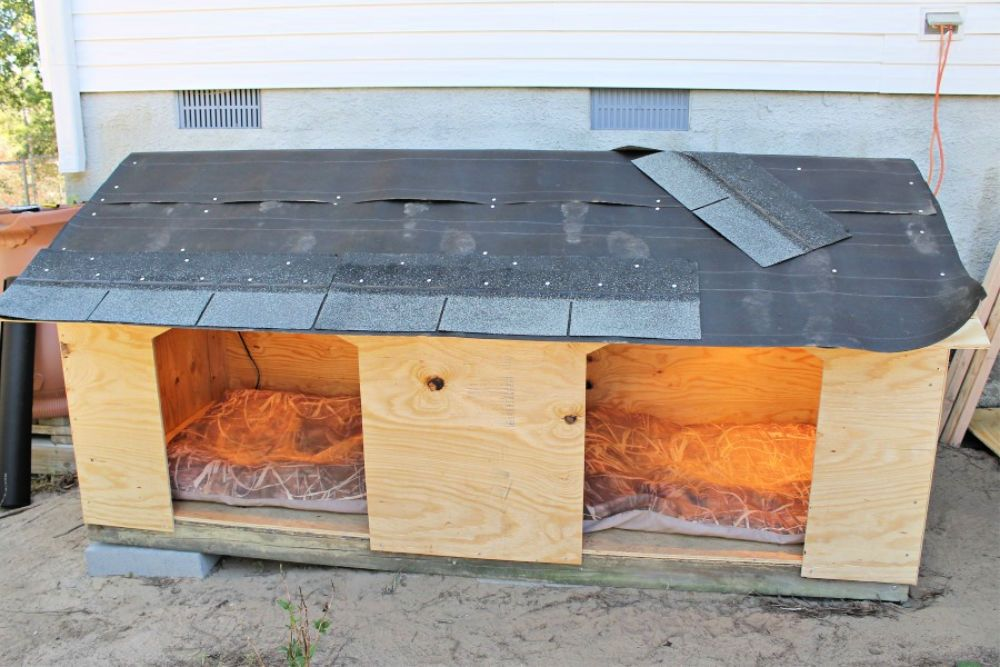 50 Free DIY Dog House Plans To Build a Dog House Cheaply