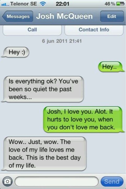That is seriously the best response EVER   Texts   Cute