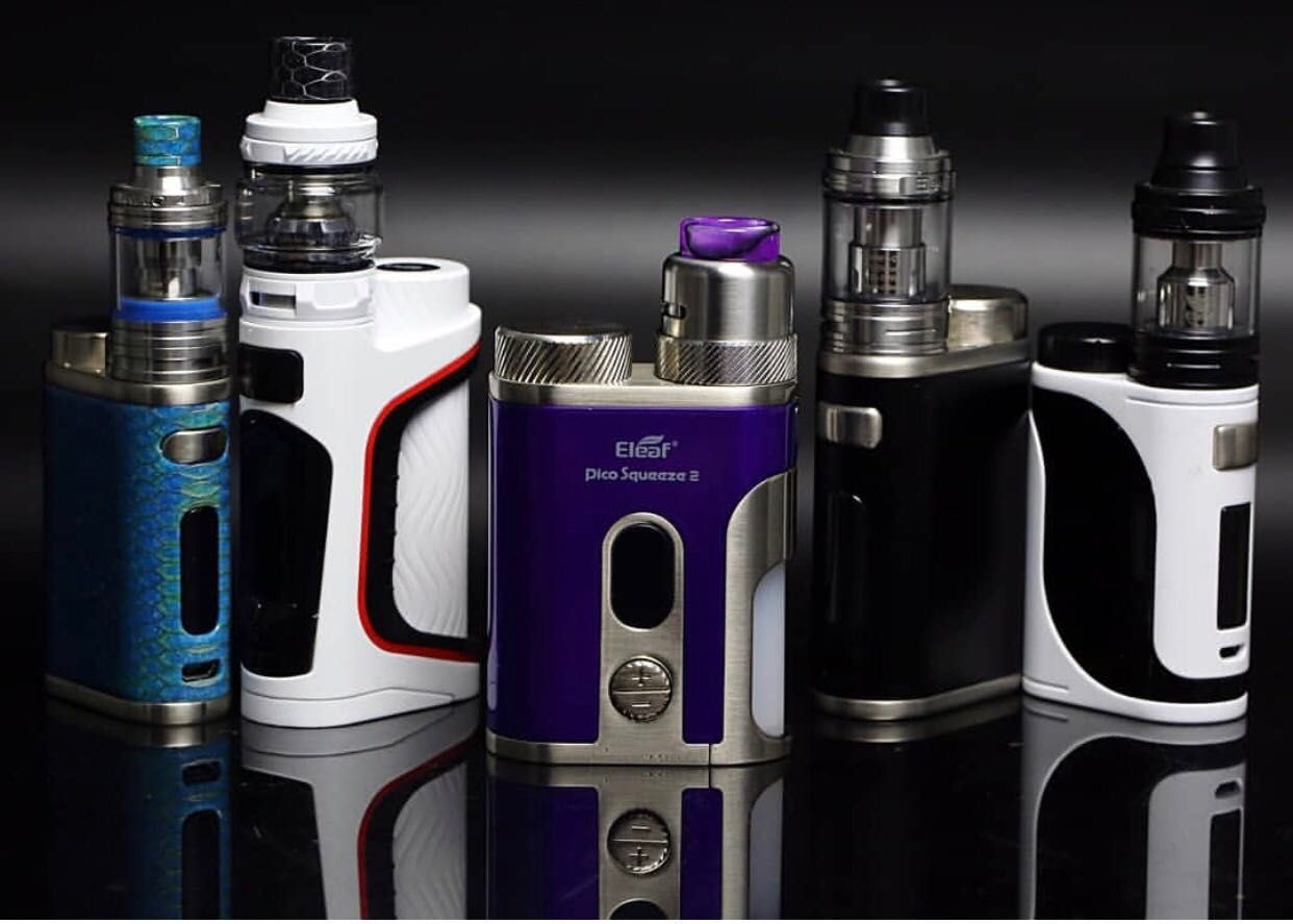 Eleaf Pico Squeeze 2 Kit With Coral 2 Atomizer 100W | Real
