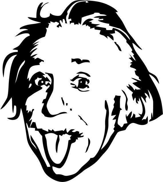 Albert Einstein Wall Art by LynchmobGraphics on Etsy | Black white ...