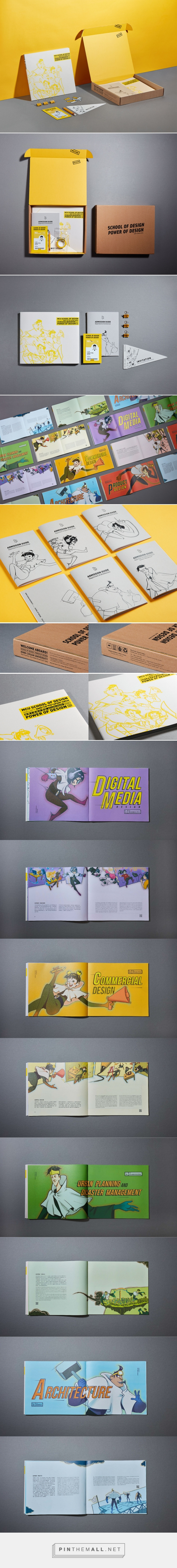 Welcome Kit-SCHOOL OF DESIGN POWER OF DESIGN on Behance... - a grouped images picture - Pin Them All