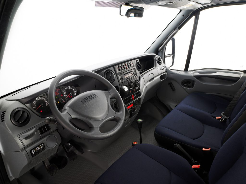 Interior Iveco Daily Chassis Cab 2006 09 Iveco Daily 4x4 Vehiculos