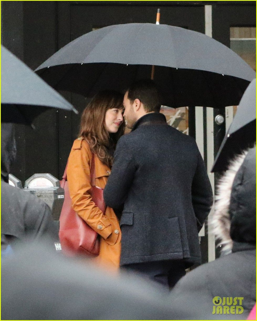 Jamie Dornan & Dakota Johnson Kiss on 'Fifty Shades Darker' Set! (Photos)