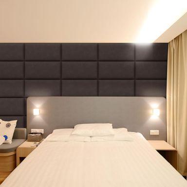 Panel Tapicerowany Ciemnobrazowy 60 X 30 Cm Panele Tapicerowane W Atrakcyjnej Cenie W Sklepach Leroy Merlin Home Home Decor Paneling