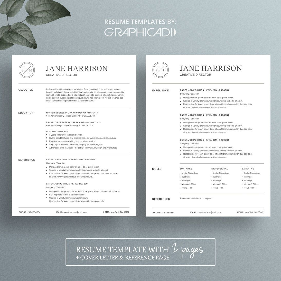 Resume Template for Microsoft Word Resume template