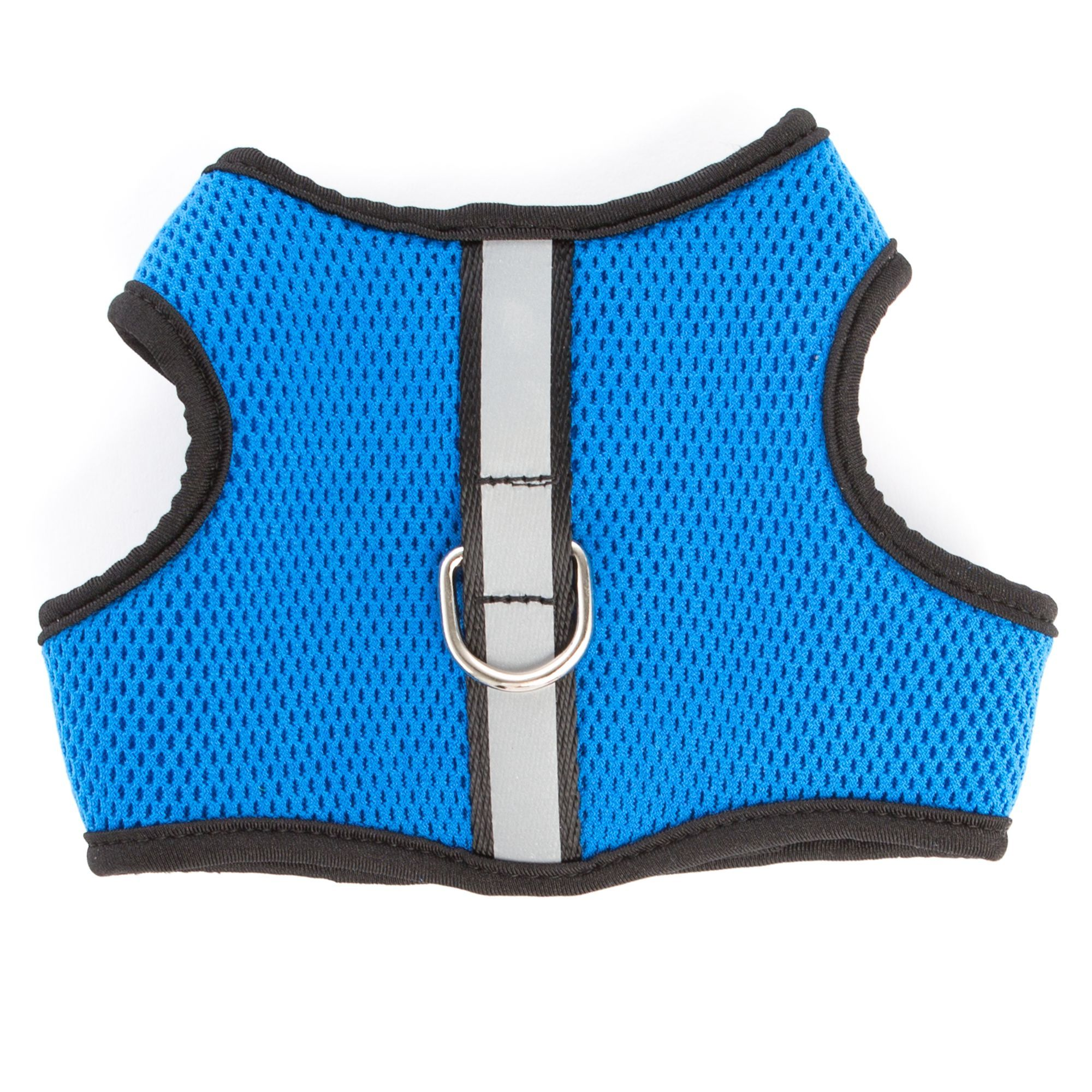 Top Paw Reflective Vest Dog Harness size X Small, Blue