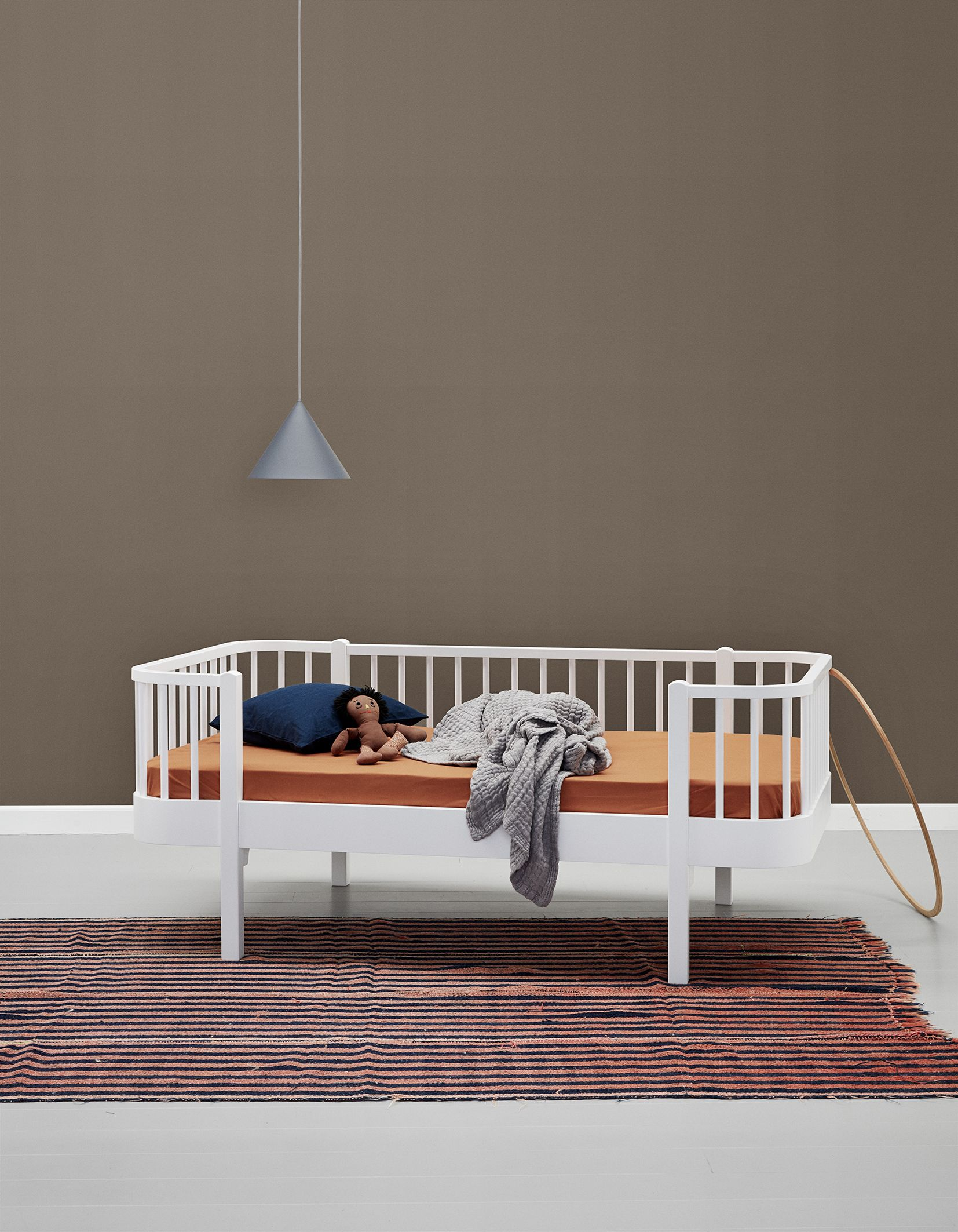 Oliver Furniture Wood Collection Tagesbett, in weiss oder