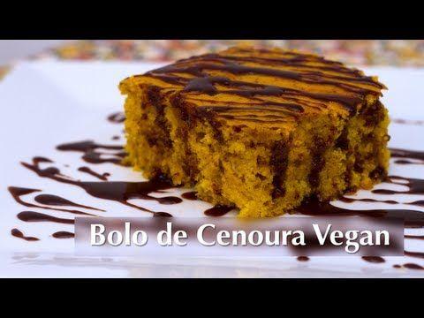 Bolo De Cenoura Vegano Presunto Vegetariano Bolo De Cenoura