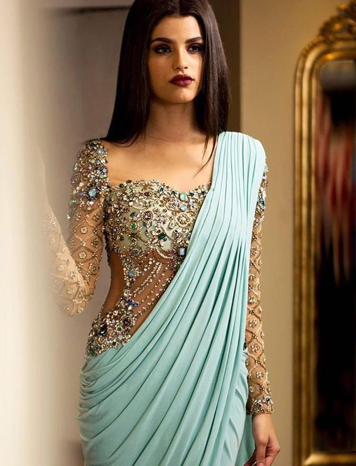 Six images bollywood dress
