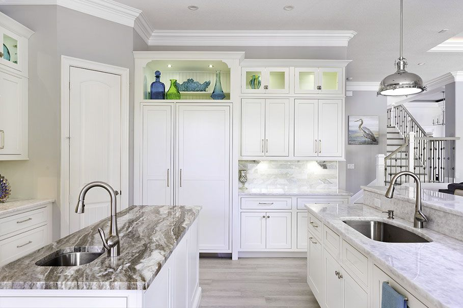 Awesome Arctic White Shaker Cabinets