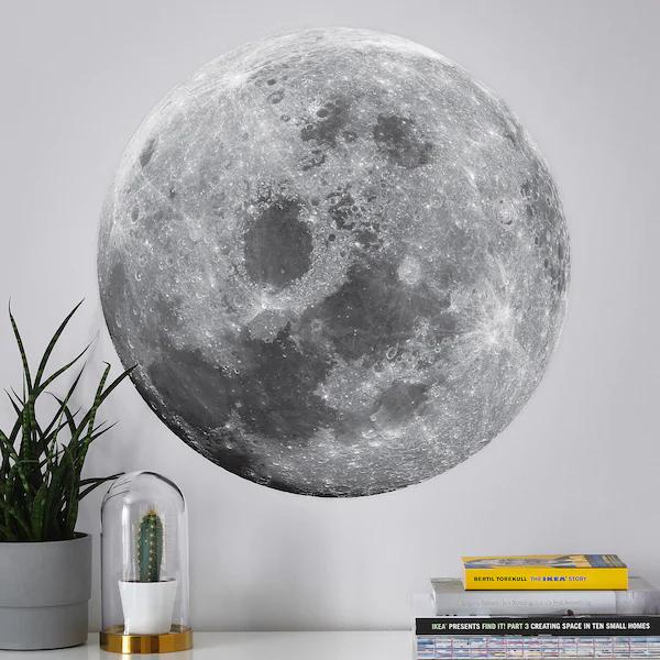 KINNARED Decoration stickers - moon - IKEA