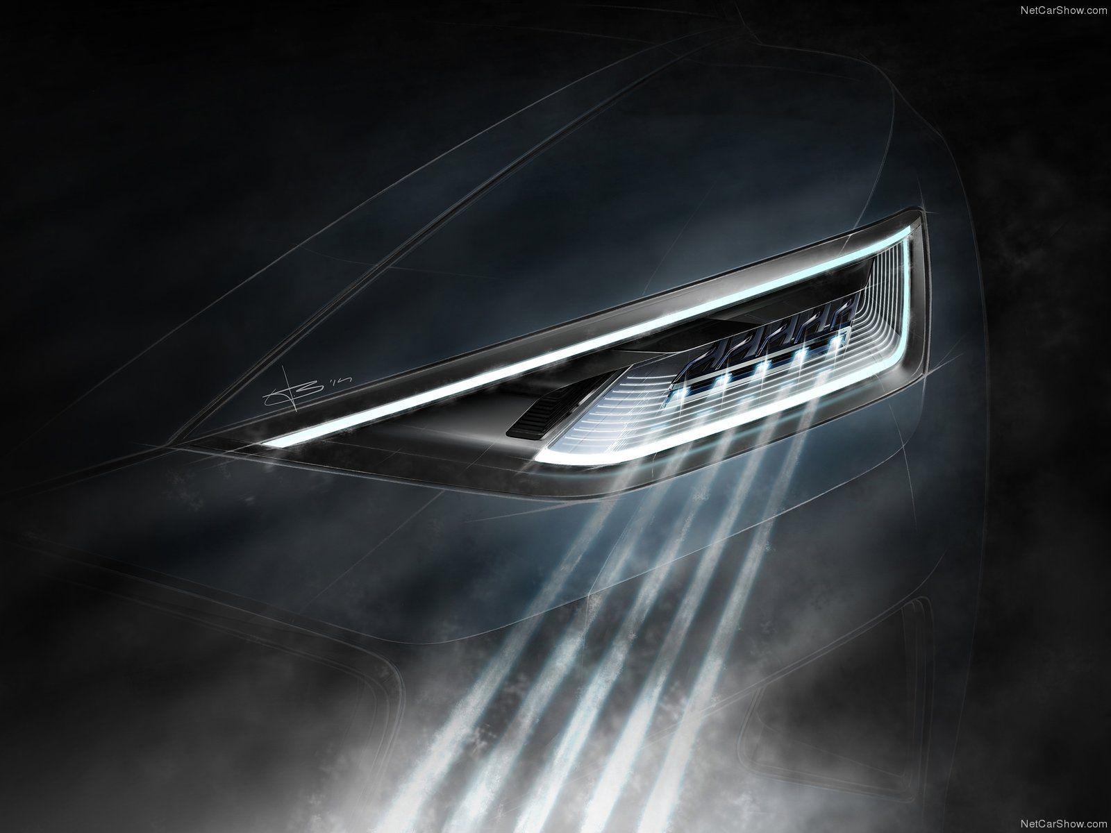 アウディ新型R8、ヘッドライトを公開 Audi ゠ャラリー