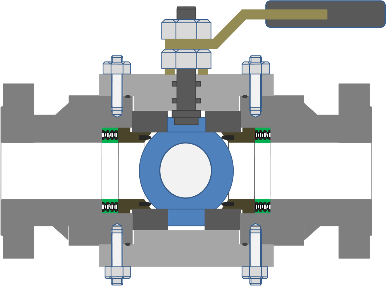 trunnion mounted ball valve advantages over floating ball valve [ 1305 x 969 Pixel ]