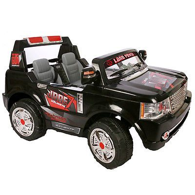 land rover style 2 seater 24v kids electric ride on child jeep with remote