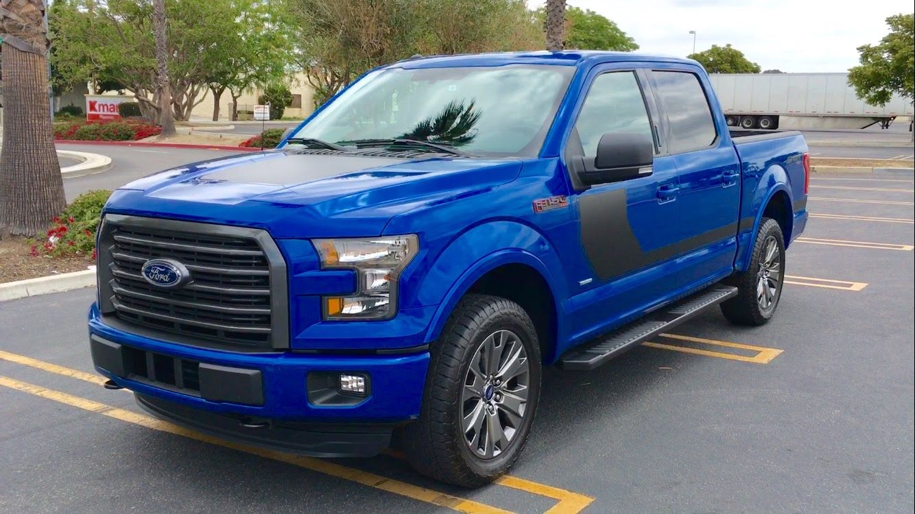 2016 Ford F 150 XLT Sport Walkaround Ford trucks, Ford