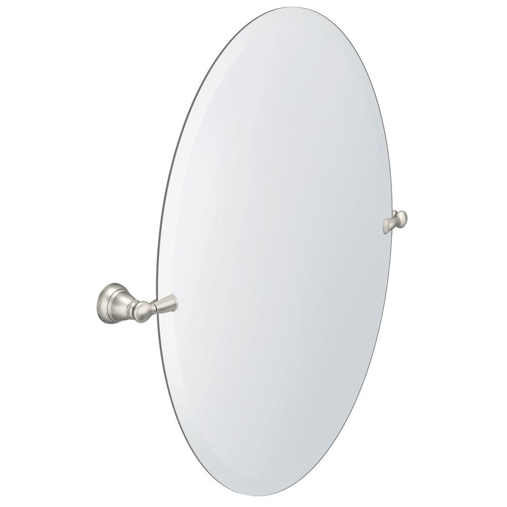 Moen Banbury 26 In X 23 In Frameless Pivoting Wall Mirror In