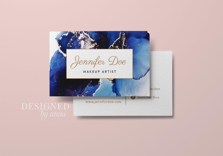 Gold Glitter Business Card Design Printable Business Card Etsy Glitter Business Cards Business Card Design Printable Business Cards