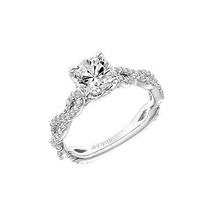 Artcarved Bridal Sweetpea Engagement Rings Jewelry Rings