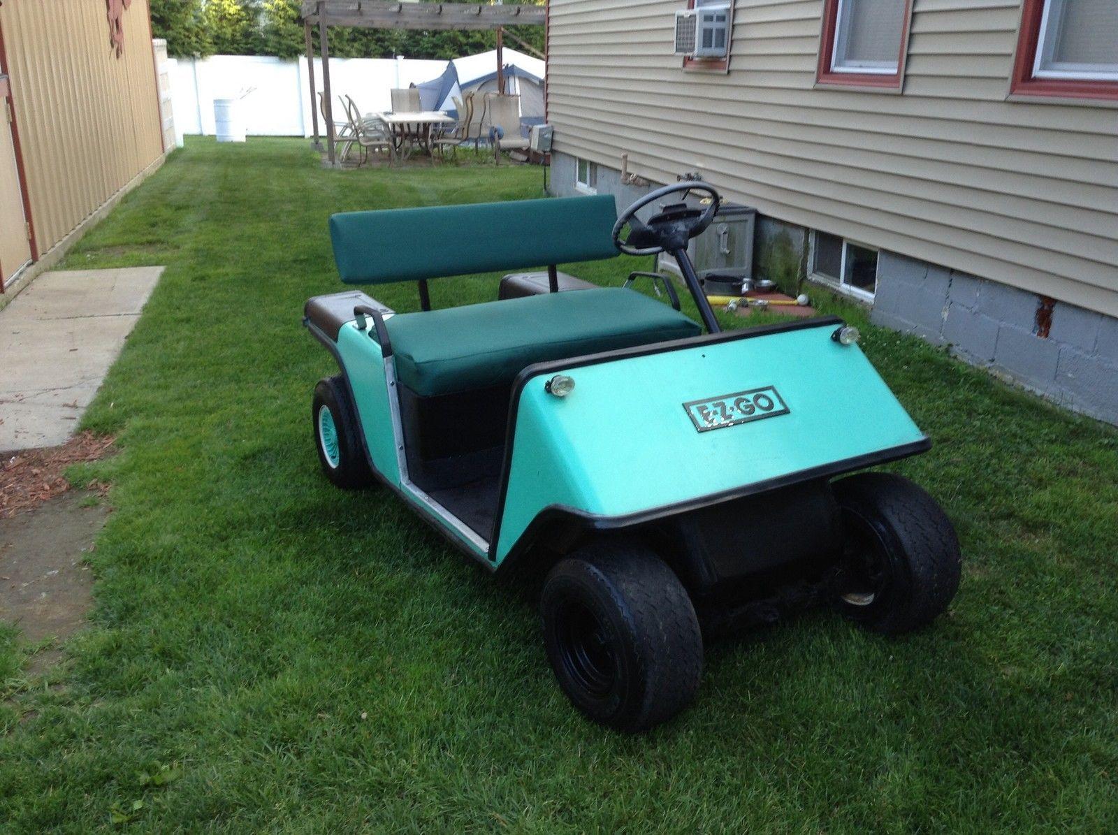 1985 EZ GO Golf Car | Vintage Golf | Pinterest | Vintage golf and Golf