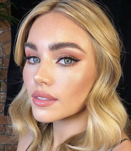 Makeup: green eyes | HOWTOWEAR Fashion