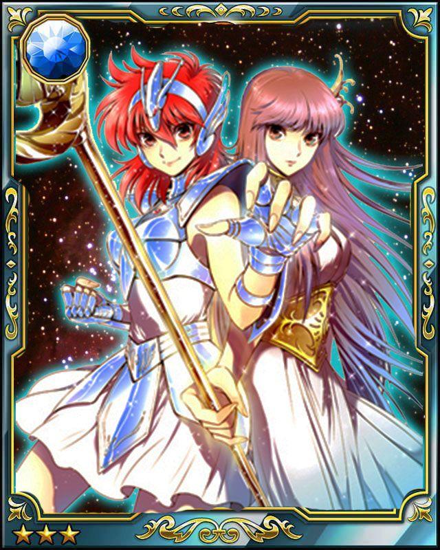 Saint Seiya Galaxy Card Battle SAINTIA SHO By LeoYagami