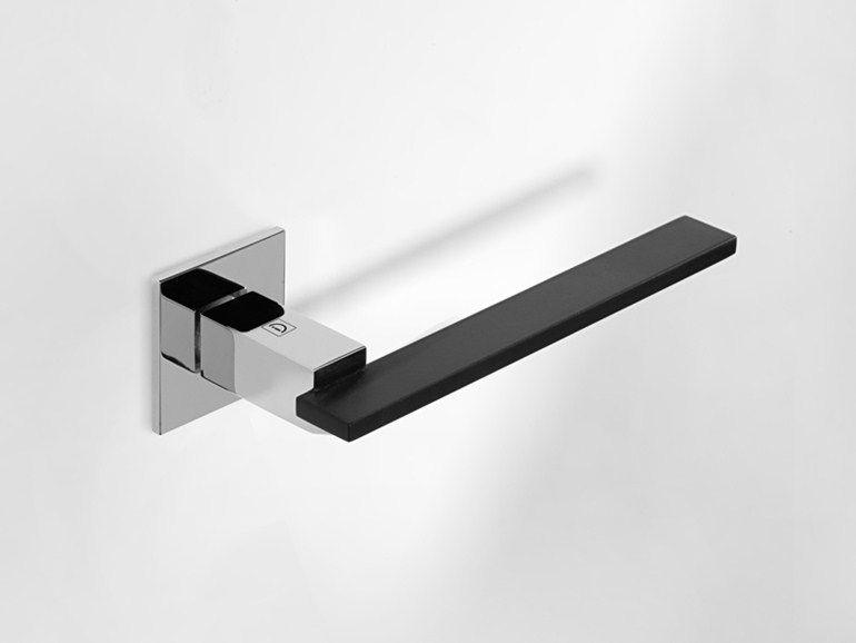 Contemporary Style Brass Door Handle Milano By I Design Brass Door Handles Door Handles Brass Door