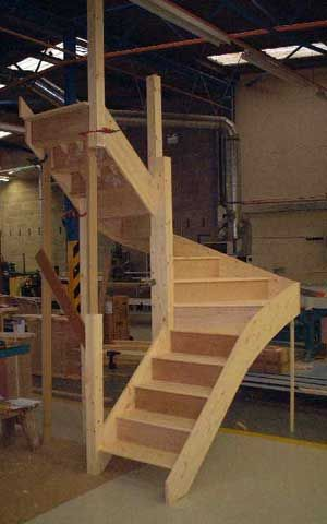 Best 180 Degree Turn Staircase With Images Loft Conversion 400 x 300
