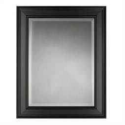 image of martha stewart living grasmere 30 in x 24 in black framed