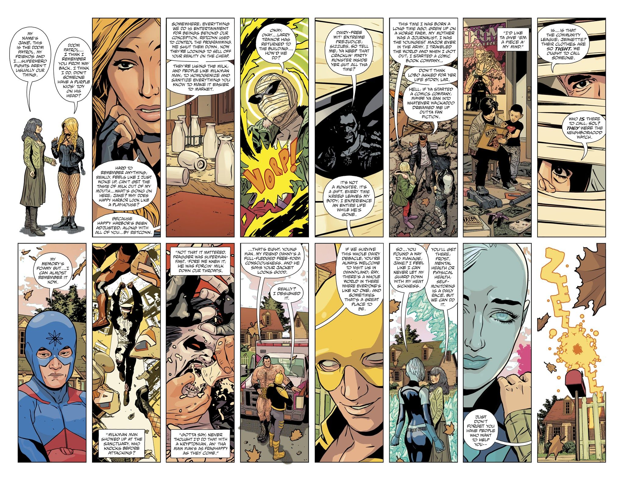 Jla Doom Patrol Special Full Read Jla Doom Patrol Special Full Comic Online In High Quality Doom Patrol Comics Comics Online