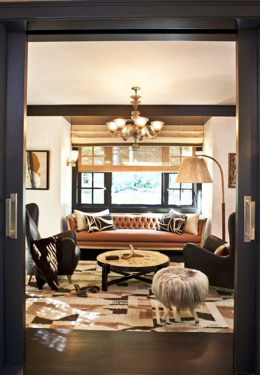 Best Interior Design Of Living Room: A More Understated/practical Kelly Wearstler Design
