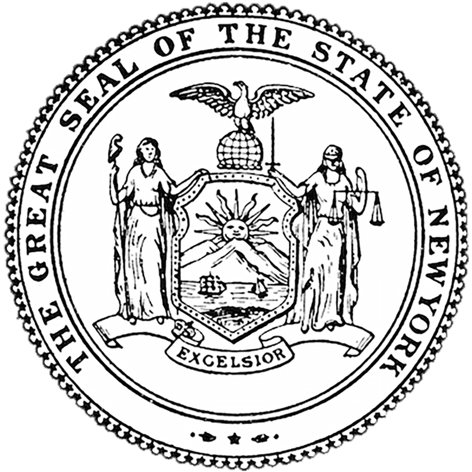 Ny Seal 1280 New York Pictures New York State Coloring Pages